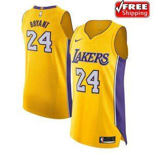 Mens Kobe Bryant Los Angeles Lakers #24 Jersey